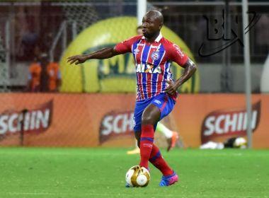 Armero é convocado pela Colômbia e fica fora de três jogos do Bahia na Série A