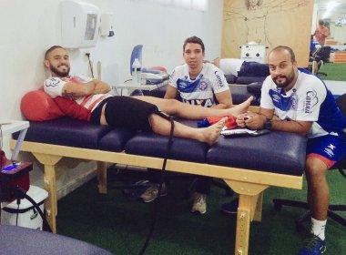 Sem folga: Régis antecipa retorno ao Fazendão para tratar lesão na coxa