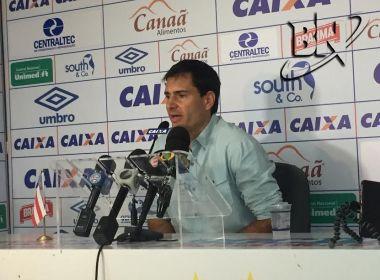 Diretor de futebol do Bahia anuncia contratação do meia Vinícius
