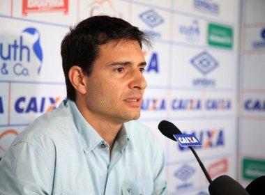 Sem confirmar Jorginho, Cerri pede foco no Bahia: 'Vamos seguir nosso caminho'