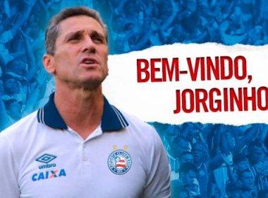 Bahia oficializa a contratação do técnico Jorginho
