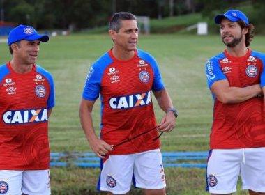 Sob os olhares de Jorginho, Bahia segue preparação para pegar o Atlético-GO