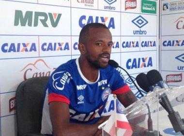 Bahia anuncia rescisão contratual do meia Diego Rosa