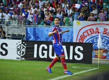 Autor de gol, Edigar destaca atuação do Bahia: 'Soubemos controlar o jogo'