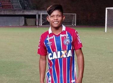 Destaque do infantil do Bahia é convocado para treinos da Seleção Brasileira sub-15