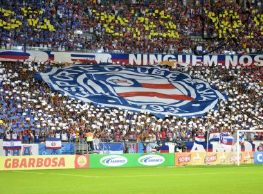 Com cota de visitantes esgotada, Bahia x Fla tem mais de 22 mil ingressos vendidos