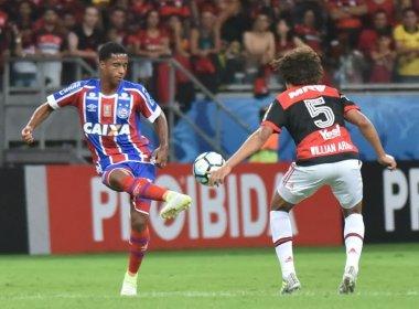 Matheus Sales aponta dificuldades do Bahia com um jogador a menos