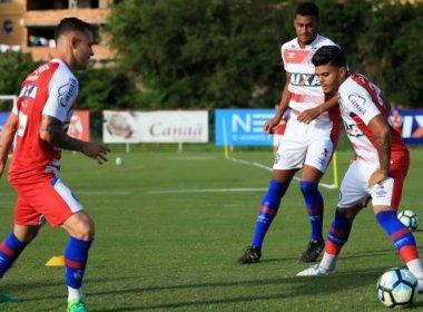 Tarde do Bahia tem elenco dividido entre treino físico e técnico
