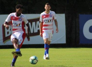Tático e bola parada dão o tom em último treino do Bahia antes de pegar o Vitória