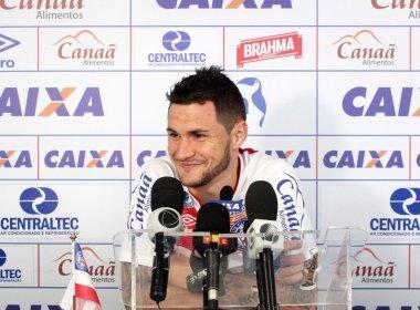 Tiago comenta renovação com o Bahia e indica: 'Tendência é permanecer por mais tempo'