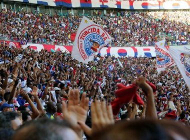 Ingressos à venda para o duelo entre Bahia e Fluminense