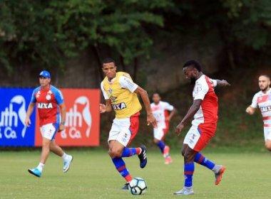 Com presença de Rodrigão, Bahia segue trabalho para pegar o Fluminense