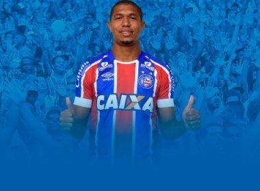 Bahia oficializa a contratação do atacante Rodrigão