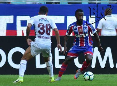Com um belo gol de João Paulo, Bahia arranca o empate contra o Fluminense