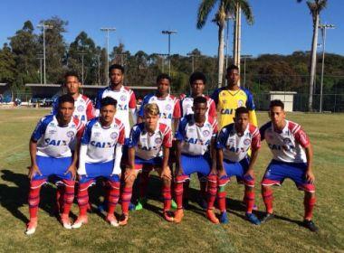 Taça BH: Na estreia, Bahia sub-17 empata sem gols com o Juventude