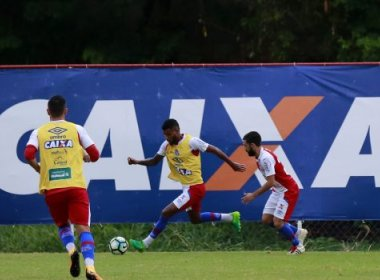 Após revés, elenco do Bahia recebe folga nesta segunda-feira