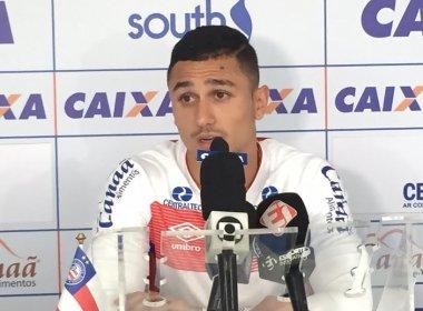 Vinícius mira duelo contra o Sport: 'É um clássico'