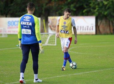 Com Rodrigão em campo, Bahia é esboçado para enfrentar o Sport