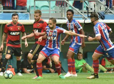 Bahia perde para o Sport e chega ao quinto jogo consecutivo sem vencer em casa
