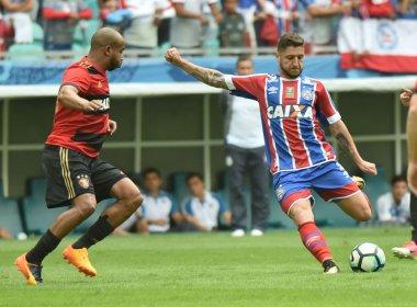 Zé Rafael lamenta derrota do Bahia: 'Estamos tomando gols bobos'