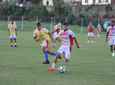 No Fazendão, Bahia inicia preparação para enfrentar o Atlético-PR