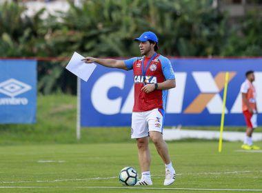 Presidente do Bahia confirma efetivação de Preto Casagrande como técnico