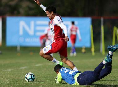 Bahia segue preparação para enfrentar o Grêmio com treino físico e técnico
