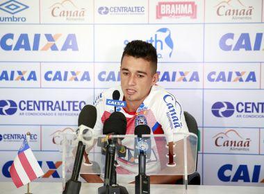 Juninho destaca importância de sequência no Bahia e garante: 'Vou dar meu máximo'