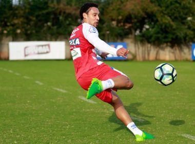 Preto testa Edigar Junio no lugar de Rodrigão durante treino do Bahia