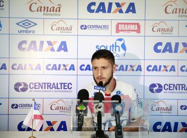 Zé Rafael reforça importância dos treinos para superar sequência difícil