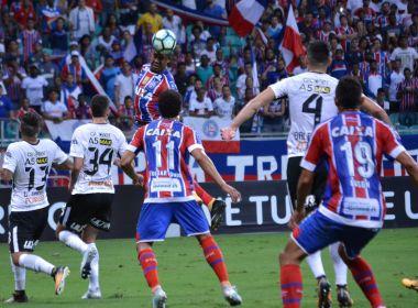 Bahia sai de campo sem nenhum atleta amarelado no triunfo sobre o Corinthians