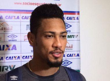 Hernane lamenta revés e chances perdidas: 'O Bahia não pode perder assim'
