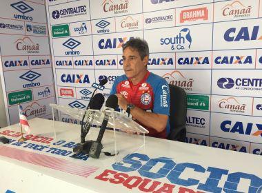 Carpegiani revela cobrança entre jogadores do Bahia no vestiário: 'Gosto disso'