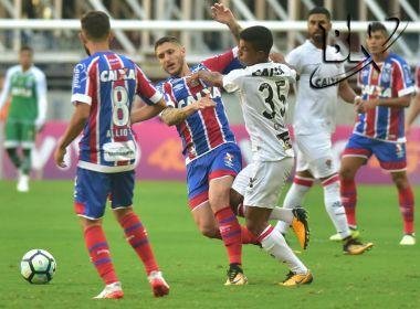 Diante da sua torcida, o Bahia vence o Vitória na Arena Fonte Nova