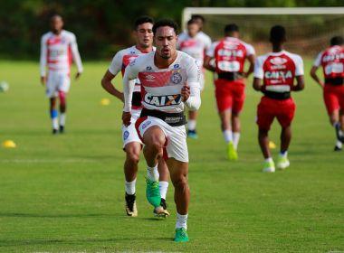 Bahia terá único treino antes de enfrentar o Avaí; confira programação