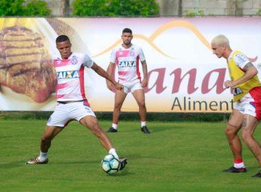 Elenco do Bahia se reapresenta com foco em jogo contra Sport