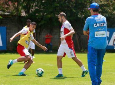 Com treino tático, Bahia encerra preparação para encarar o Sport
