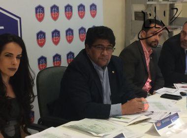 Presidente da FBF valoriza possível ida do Bahia à Libertadores: 'Conquista grande'