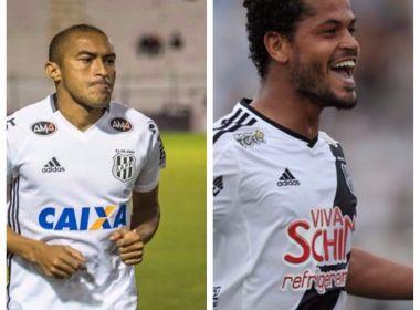 Bahia encaminha acertos com lateral Nino Paraíba e volante Elton