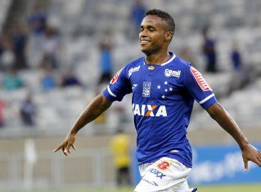 Bahia oficializa a aquisição definitiva do atacante Élber, ex-Cruzeiro