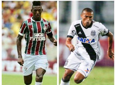 Bahia oficializa a contratação dos laterais Léo Pelé e Nino Paraíba