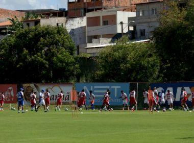 Bahia tem 23 atletas relacionados para concentração da pré-temporada