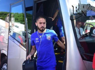 Novo contrato de Régis com o Bahia é publicado no BID