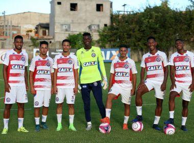 Atletas que estavam na Copinha integram elenco profissional do Bahia