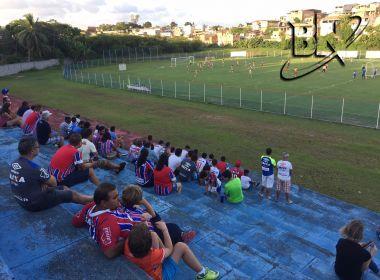 Com apoio da torcida, Bahia finaliza preparação para enfrentar o Botafogo-PB