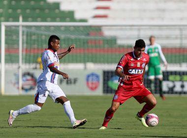 Bahia perde para o Bahia de Feira na estreia do Baianão 2018