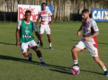 Bahia faz último treino antes de encarar o Altos nesta segunda; veja programação