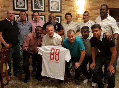 Para celebrar 29 anos, Bahia promove jantar com campeões de 1988