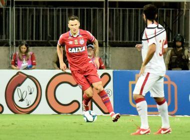 Substituído por lesão, Tiago será reavaliado nesta sexta-feira