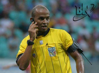 Bahia x Atlântico: Ricarle Gustavo apita jogo da rodada 7 do Baianão
